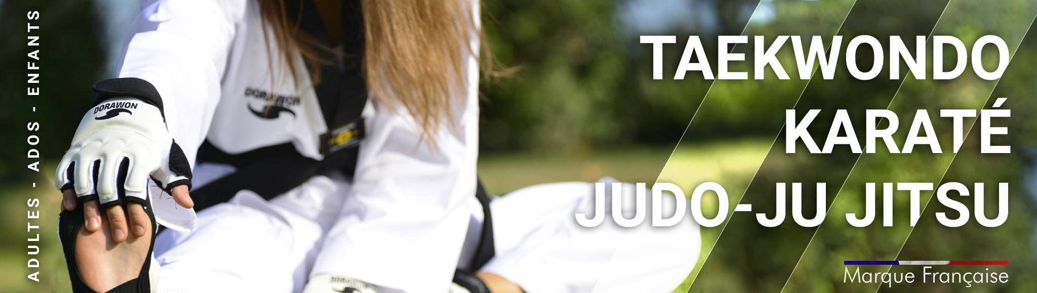Taekwondo - karaté - Judo